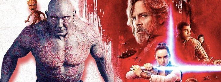 Bautista a été rejetée de deux films Star Wars différents après avoir auditionné