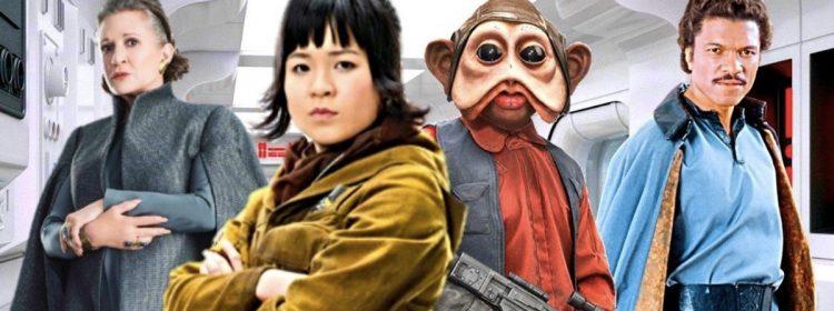 Star Wars 9 Leia et Lando Réunion, la mission et le premier acte de Rose révélés?