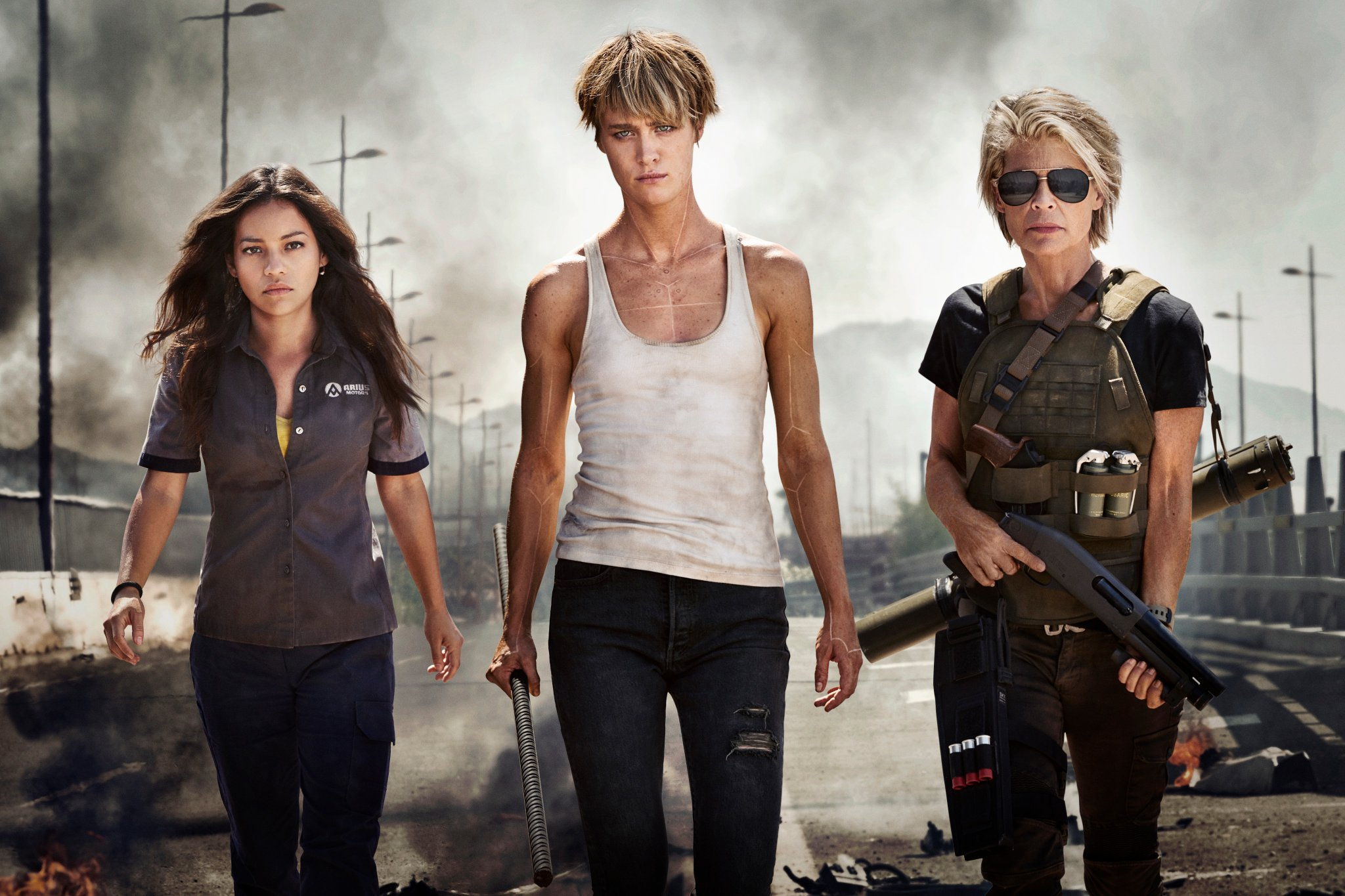 Terminator : première photo officielle avec les actrices principales