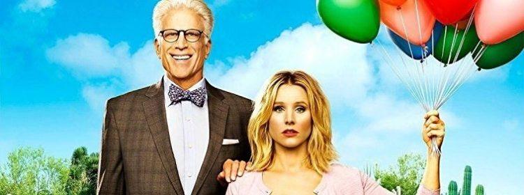 The Good Place : Kristen Bell pousse une nouvelle porte dans la première affiche de la saison 3 - Actualité Série