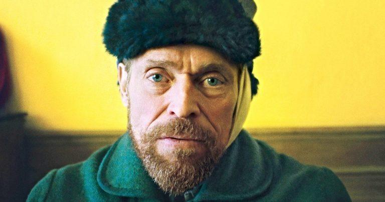 <pre>À l'affiche de l'éternité, l'affiche a d'abord vu Willem Dafoe comme Vincent Van Gogh