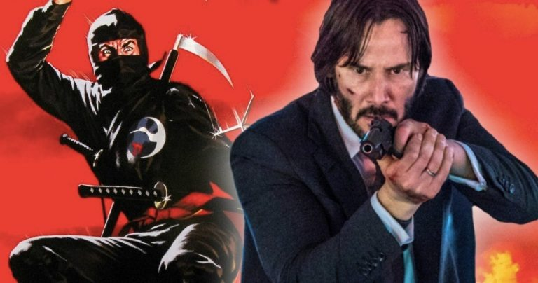 <pre>John Wick 3 a Keanu Reeves combattant les Ninjas