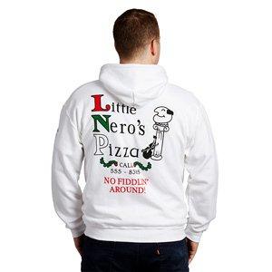 Sweat à capuche Little Nero's Pizza