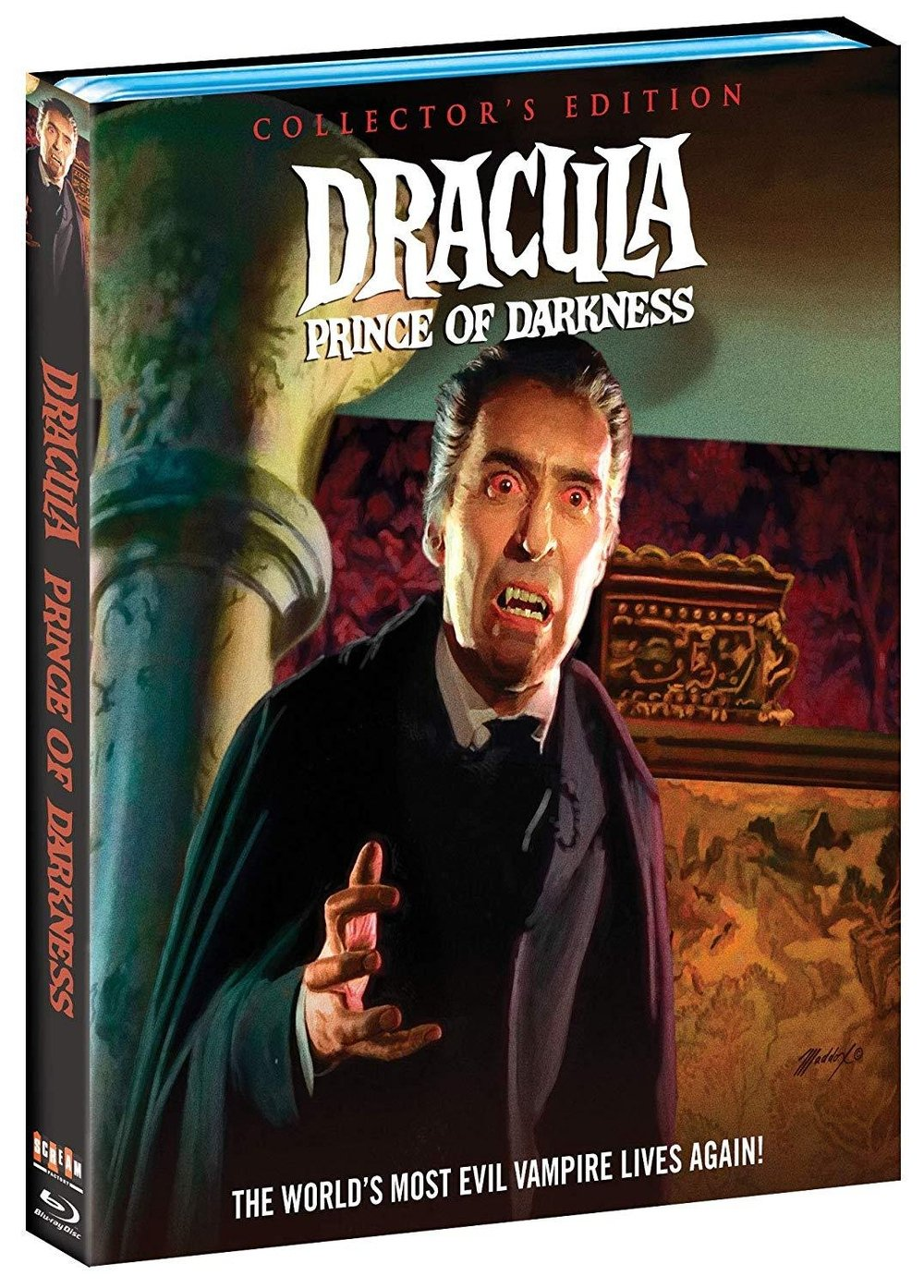 Dracula Prince of Darkness édition collector blu-ray