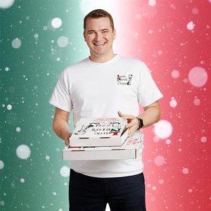 T-shirt Pizza Nero's # 2