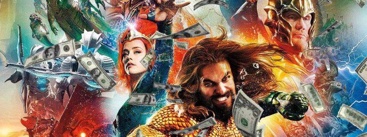 Aquaman sur le point de nager au-delà de 1 milliard de dollars au box-office