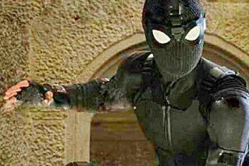 La première image officielle loin de chez soi montre le costume furtif de Spider-Man