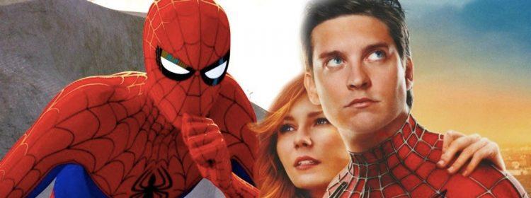 Tobey Maguire dans le rôle de Spider-Man