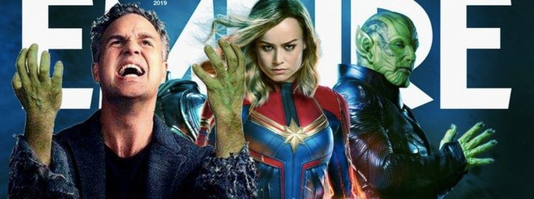 Brie Larson Zings Mark Ruffalo avec Captain Marvel Empire Cover Reveal