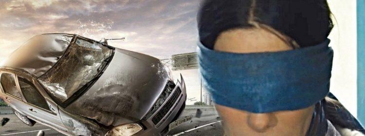 Le «Bird Box Challenge» donne lieu à un accident de voiture aux yeux bandés