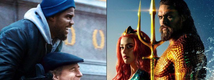 Upside remporte une place de choix au box-office alors qu'Aquaman traverse 1 milliard de dollars