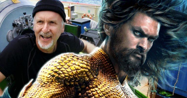 <pre>James Cameron a des sentiments très mitigés à propos d'Aquaman