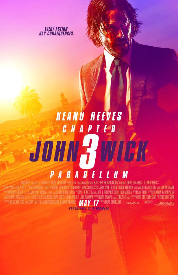 John Wick 3 affiche