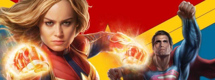 Le capitaine Marvel Beat Superman? Brie Larson pense qu'elle sait