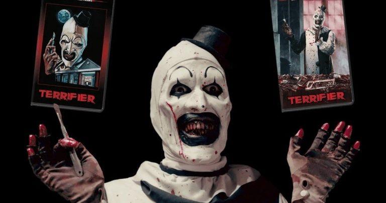 <pre>Killer Clown Cult Favorite Terrifier vient à VHS