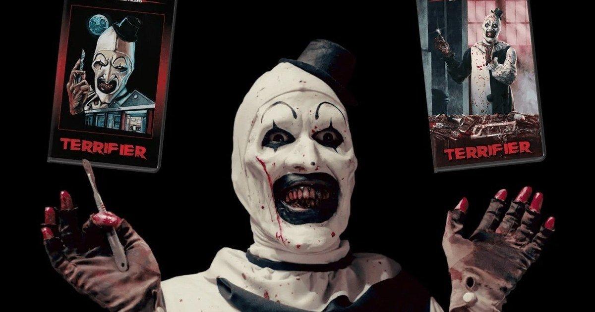 Killer Clown Cult Favorite Terrifier vient à VHS