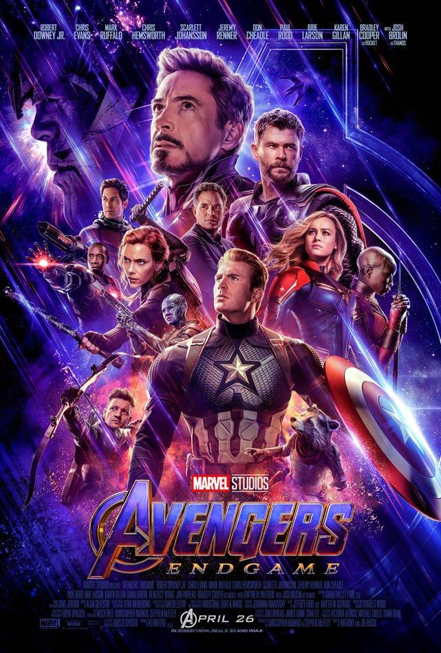 Affiche Avengers Endgame