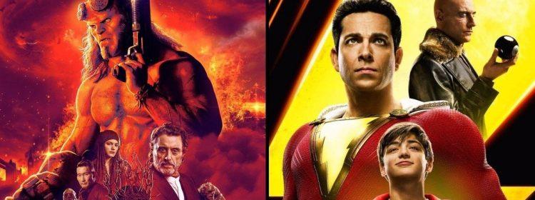 Shazam remporte son deuxième week-end avec 25,1 M $ sous la forme de bombes Hellboy au box-office