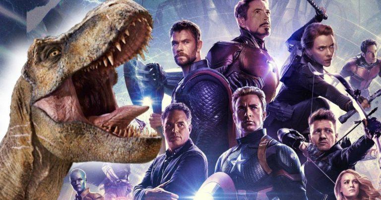<pre>Jurassic World est classé 5ème plus grand film de tous les temps