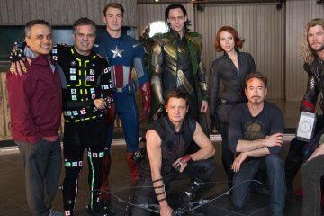 Original Avengers Assemble on Recréé 2012 dans la dernière image de BTS Endgame