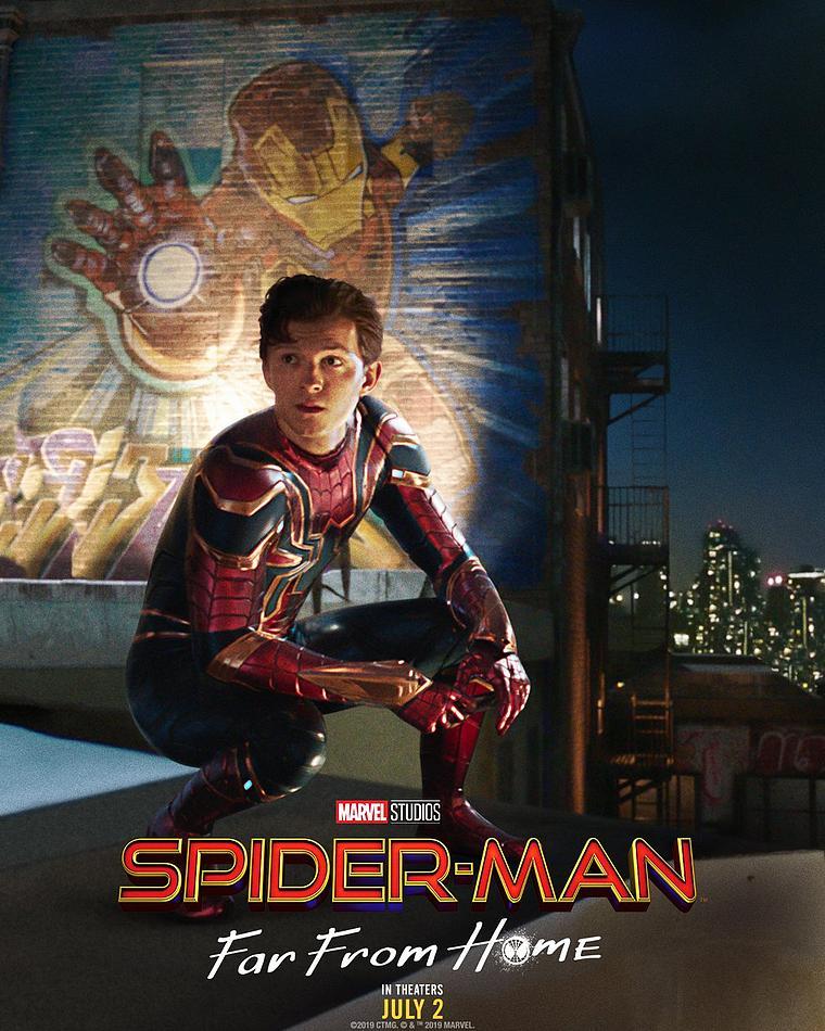 Affiche Spider-Man loin de chez soi Iron Man