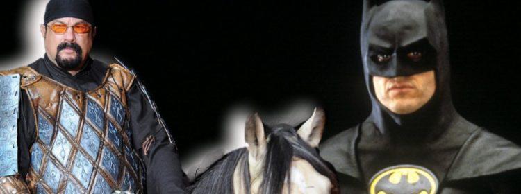 Steven Seagal en tant que Batman de Tim Burton? Ça aurait pu arriver