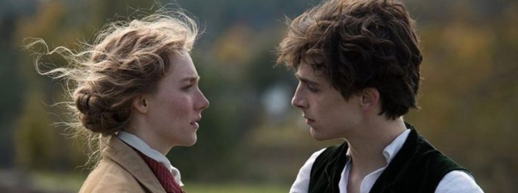 Les premières femmes de Greta Gerwig réunies Saoirse Ronan et Timothée Chalamet
