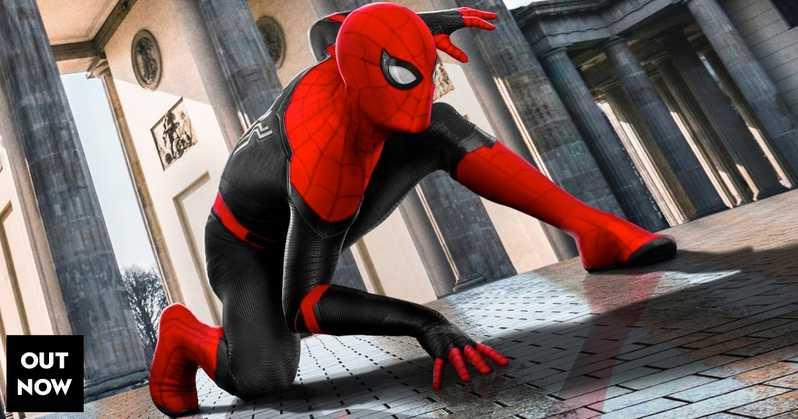 Spider-Man loin de chez soi dans les théâtres