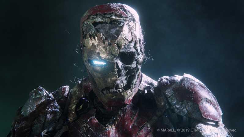 Zombie Iron Man Spider-Man: Loin de la maison # 1