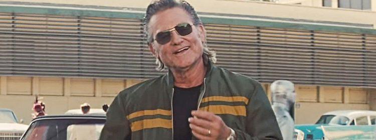 Il était une fois à Hollywood, le clip présente Kurt Russell sous le nom de Stuntman Randy