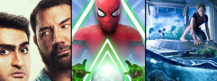 Spider-Man peut-il retenir Stuber & Crawl au box-office du week-end?