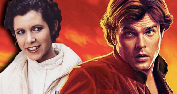 Princesse Leia Zings Nom solo dans le dernier Star Wars Comic
