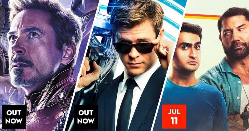 Avengers, Men In Black, Stuber à l'affiche