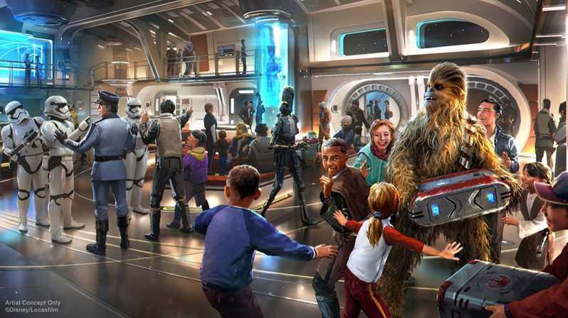 Parcs Disney Star Wars Starcruiser Resort Disney World # 4