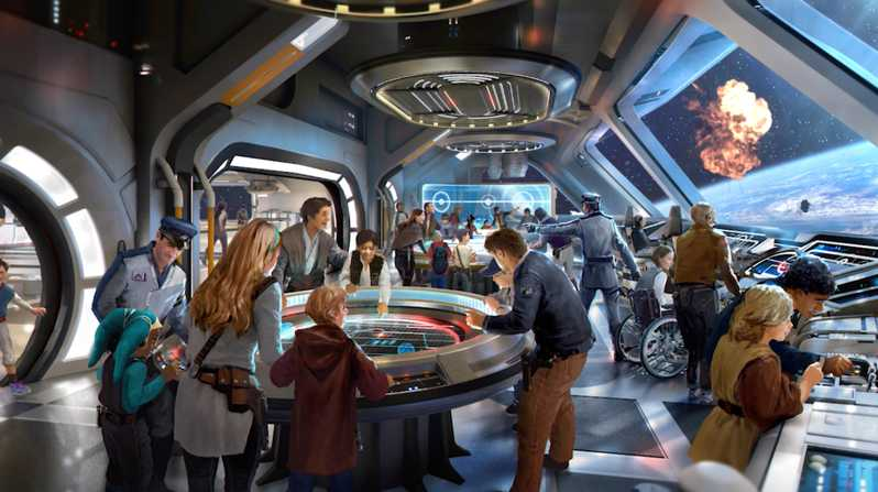Parcs Disney Star Wars Starcruiser Resort Disney World # 2