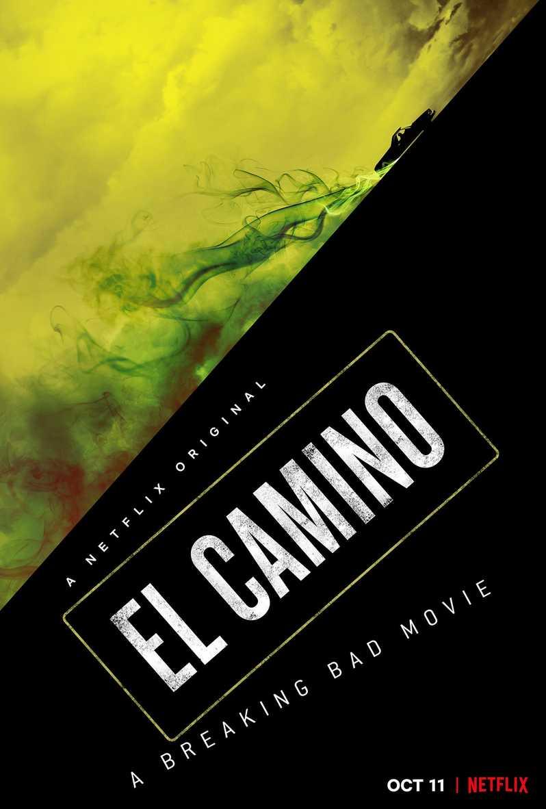 Briser le mauvais affiche du film El Camino