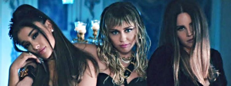 Charlie's Angels Équipes de vidéos musicales Ariana Grande, Miley Cyrus et Lana Del Rey