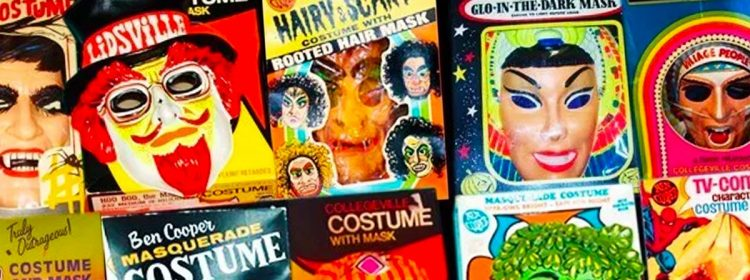 Halloween dans une boîte Bande documentaire se penche sur les costumes en plastique de l'ancien