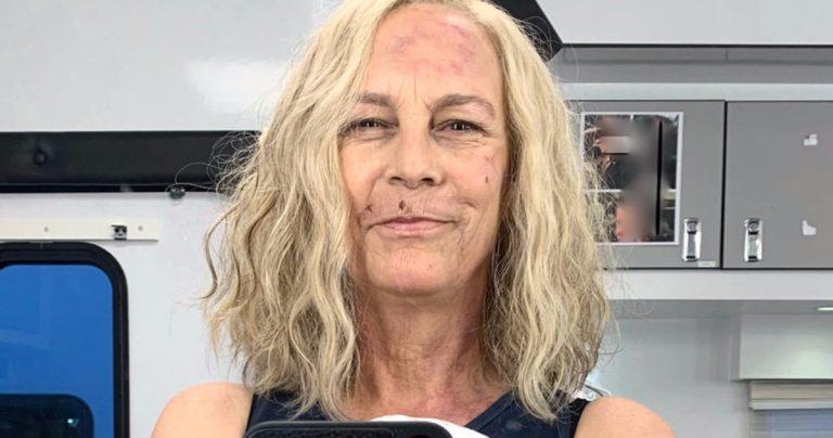 Jamie Lee Curtis partage le premier regard sur le retour de Laurie Strode