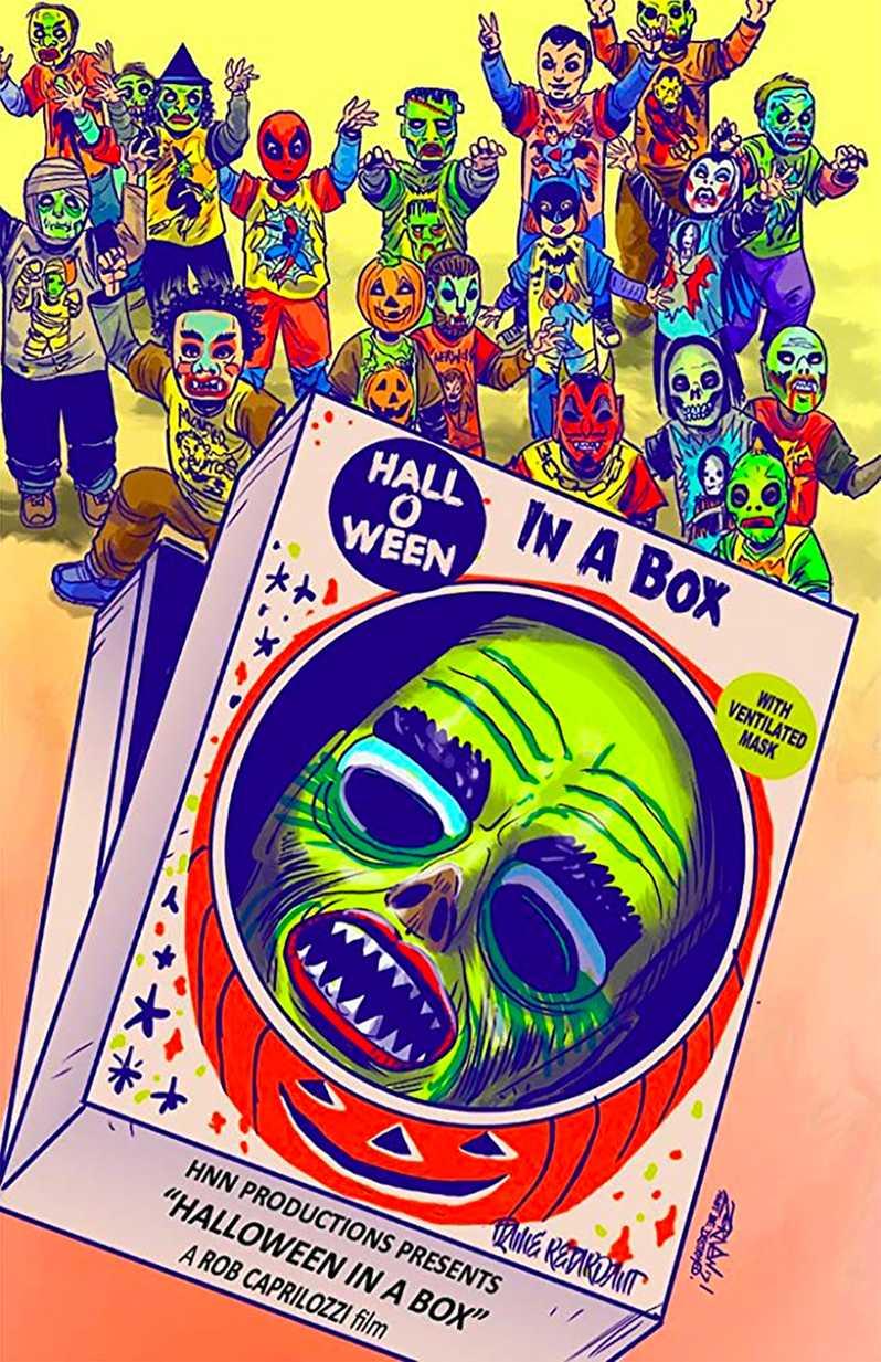 Documentaire Halloween dans une boîte
