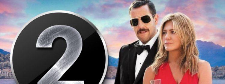 Le meurtre mystérieux 2 qui se produit à Netflix avec Sandler et Aniston devrait revenir