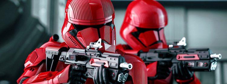 Les forces des soldats Sith se moquent de la montée récente de Skywalker