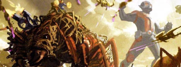 Un concept de fin de jeu révèle l'armée d'insectes géante d'Ant-Man