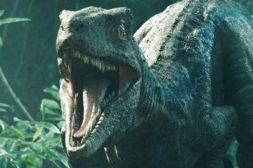 La vidéo de Jurassic World 3 montre un dinosaure animatronique sans peau
