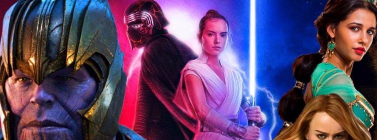 Disney termine 2019 avec un box-office record de 13,2 milliards de dollars