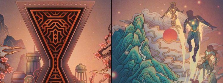 Disney célèbre le nouvel an chinois avec Black Widow, Eternals et 10 autres affiches