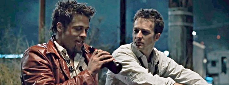 Brad Pitt et Edward Norton se sont défoncés avant la première du «Fight Club» et n'ont pas pu arrêter de rire
