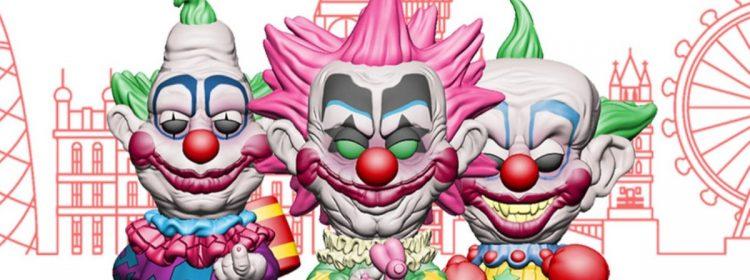 3 Killer Klowns de plus de Funko Pop! Les jouets s'écroulent sur Terre