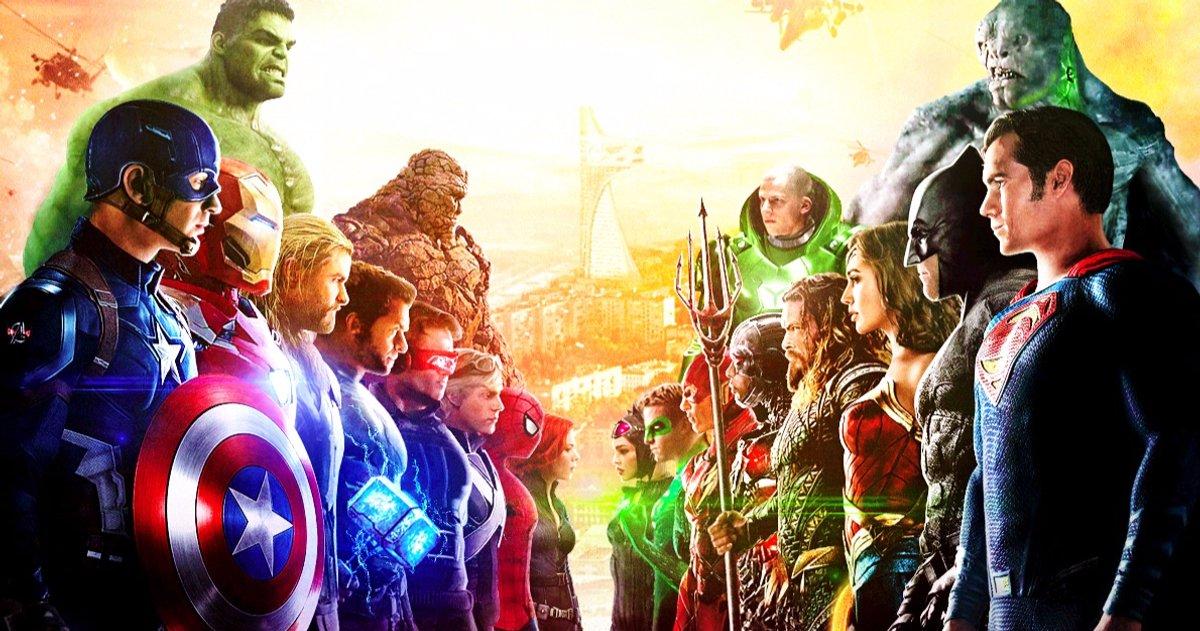 Marvel Vs. La rivalité de DC n'existe pas selon James Gunn