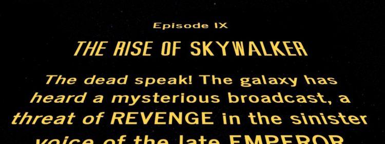 Intention derrière la montée de l'exploration d'ouverture de Skywalker expliquée par le co-auteur